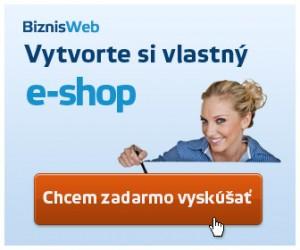 vytvoriť www stránku, vytvoriť eshop