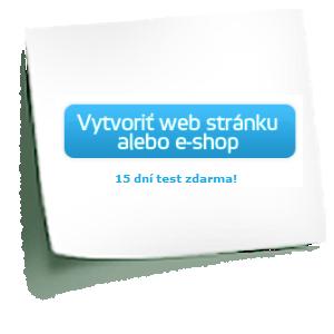 vytvoriť web stránku, vytvoriť blog, vytvoriť e-shop
