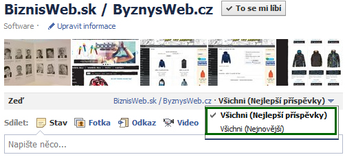 novinky na facebooku, edgerank, news feed