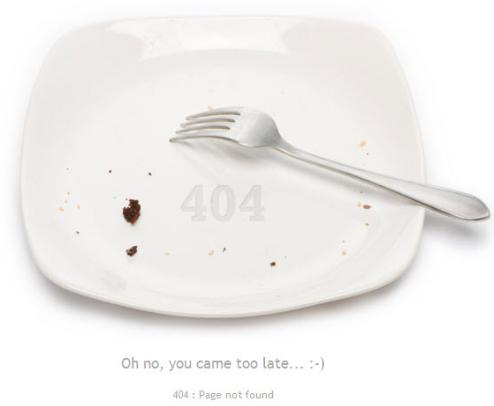 chyba 404, stránka nenalezena