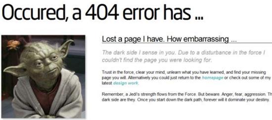chyba 404 - stránka nenalezena