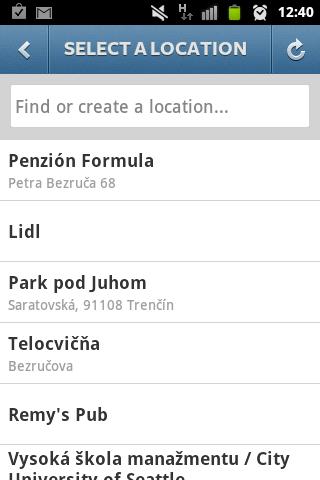 lokalizace na instagramu
