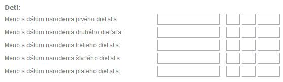 zbytecne otazky ve formulari