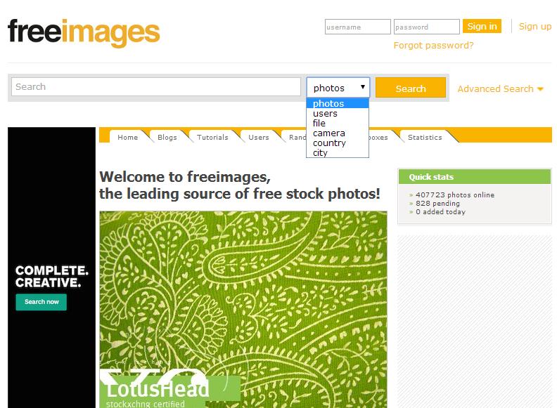 fotobanka freeimages, obrázky zdarma na Váš web