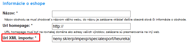 heureka-xml