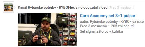 videorecenzie produktov z eshopu ryboflex