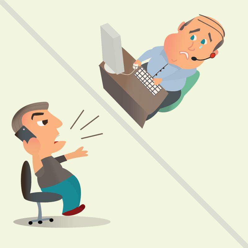 ako komunikovať s rozhnevaným zákazníkom