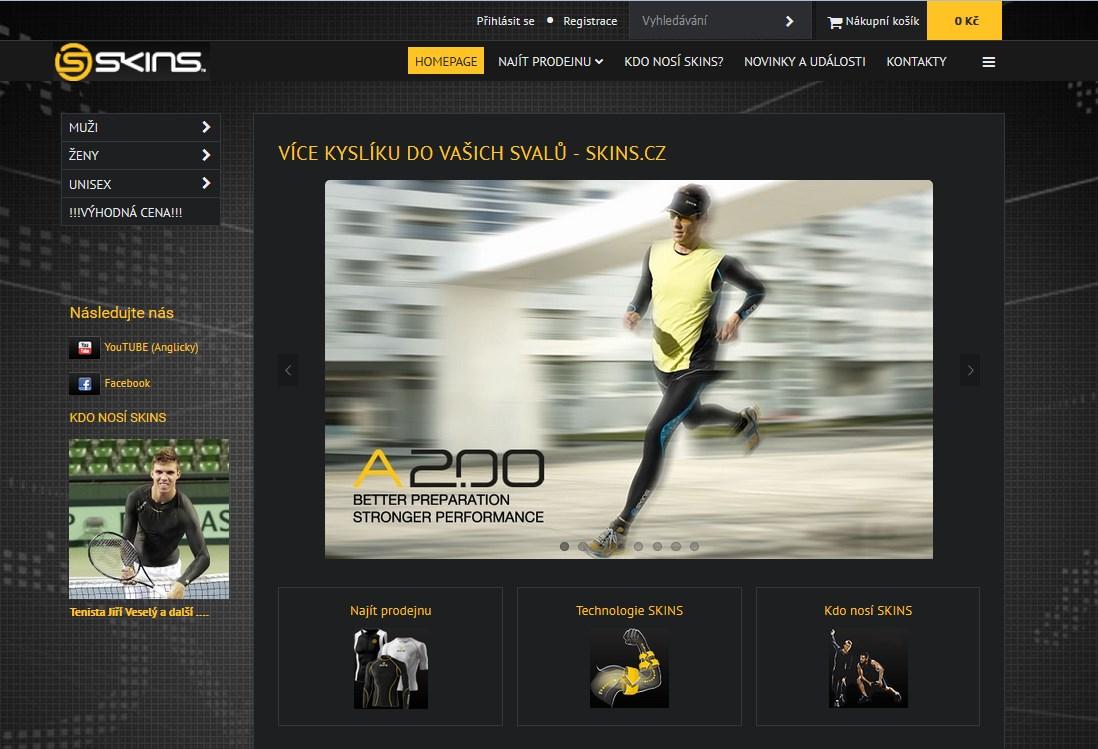 čierna farba vo webdizajne, moderný responzívny web v čiernej farbe