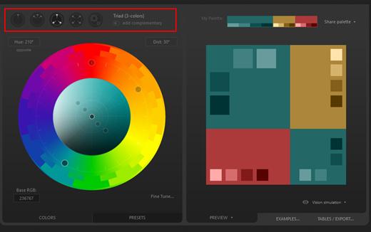 ako  kombinovať farby vo webdizajne
