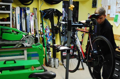 bike servis Kopřivnice