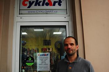 Hynek Vlček - zakladateľ CykloArt