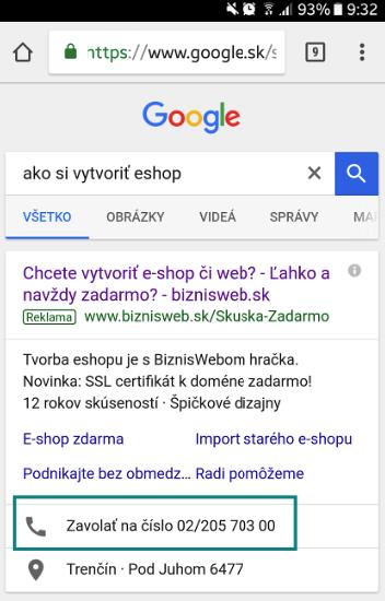 rozšíření adwords