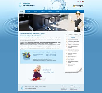 Vzor titulky web stránky - upratovanie bytov, firiem a iné