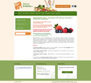 Vzor web stránok
