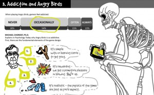 infografika, angrybirds