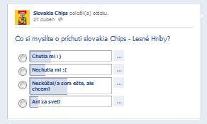 slovakia chips - komunikácia s fanúšikmi