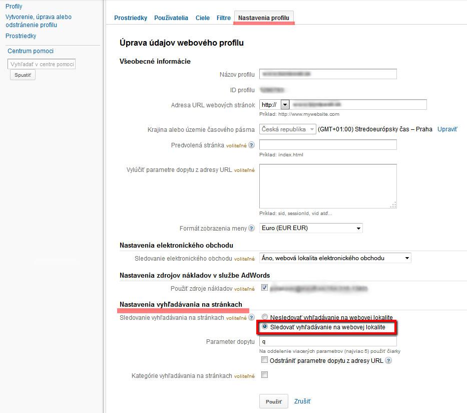 vyhľadávanie na webe, meranie web stránky, meranie web stránky v google analytics