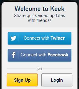 keek- nová možnosť udieľania vašich videí