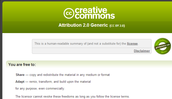 creative commons flickr