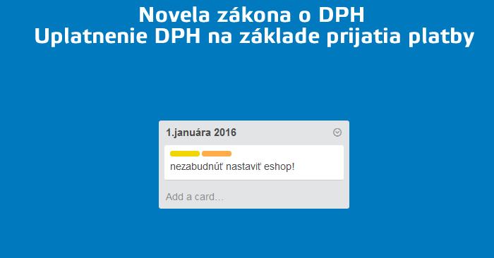 novela o DPH