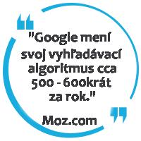 zmena google algoritmu
