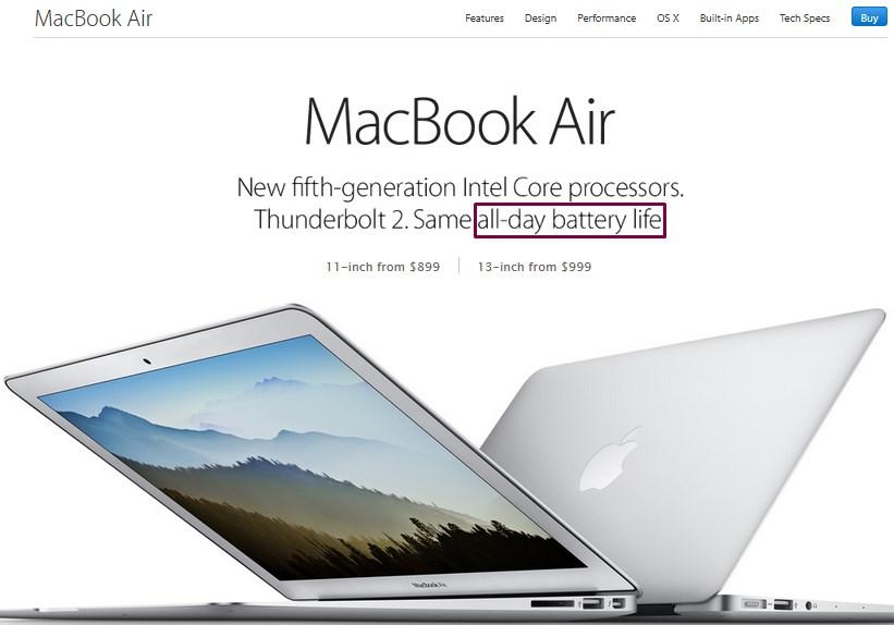 macbook - kategorizácia produktov podľa potrieb zákazníka