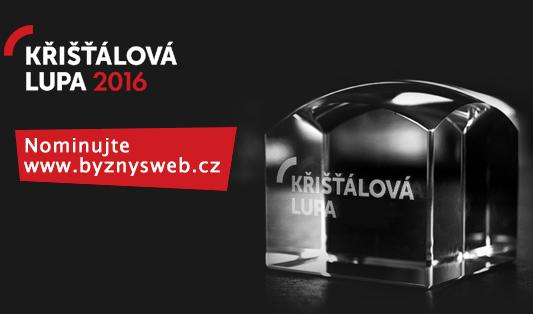 nominácia ByznysWeb.cz na Křišťálovú Lupu 2016
