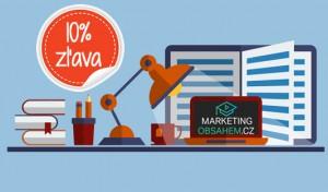 10% zlava na Tréning obsahového marketingu