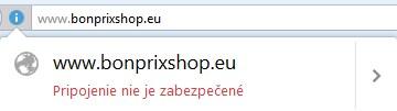 stránky nezabezpečené SSL