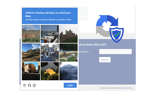 antispam - reCAPTCHA