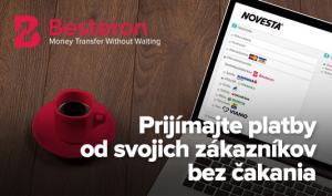 rýchla platobná možnosť pre e-shop