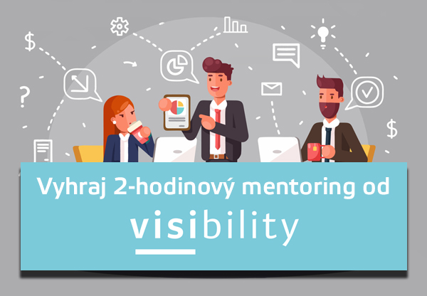 vyhrajte mentoring od visibility