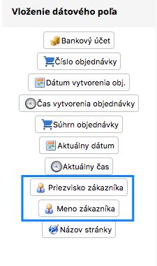 vloženie dátového poľa v CMS FLOX od BiznisWebu