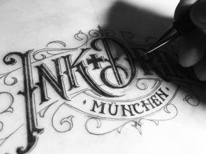 tvorba hand letteringového loga