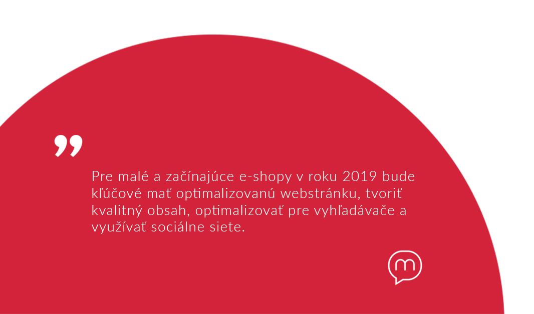 ako uspieť so svojim e-shopom v roku 2019