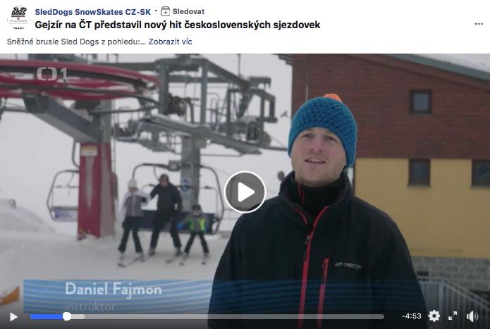 Daniel Fajmon z hopsaj.sk predstavuje snežné korčule