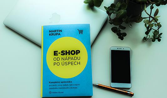 recenzia knihy E-shop od nápadu po úspech od Martina Krupu