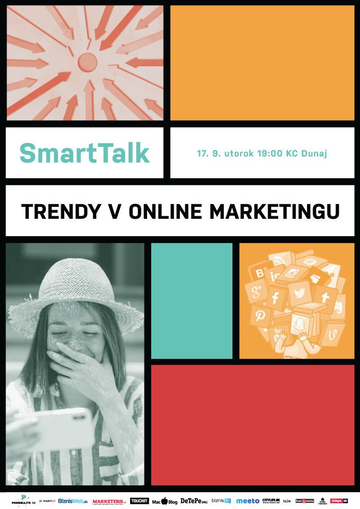 trendy online marketingu SmartTalk 17. 9. 2019 KC Dunaj
