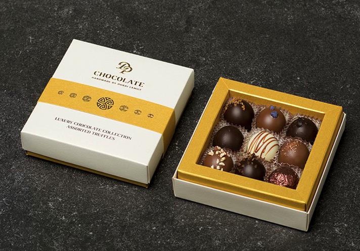 DP chocolate - čokoládové pralinky a truffles