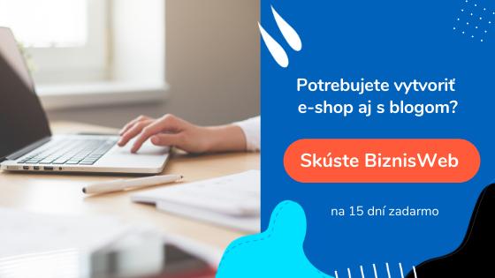 tvorba e-shopu s blogom | BiznisWeb.sk