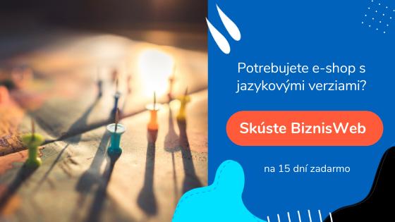 tvorba e-shopu s jazykovými verziami | BiznisWeb.sk