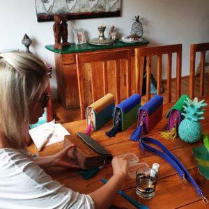 Luce Rybárová - mamaLu při práci