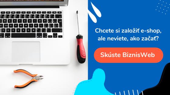 tvorba e-shopu v BiznisWeb.sk